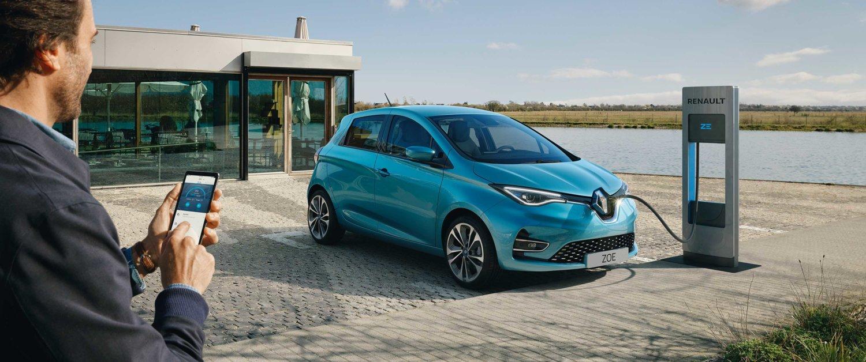 Nya Renault Zoe bild
